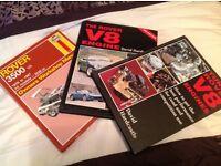 3 hardbacked car books
