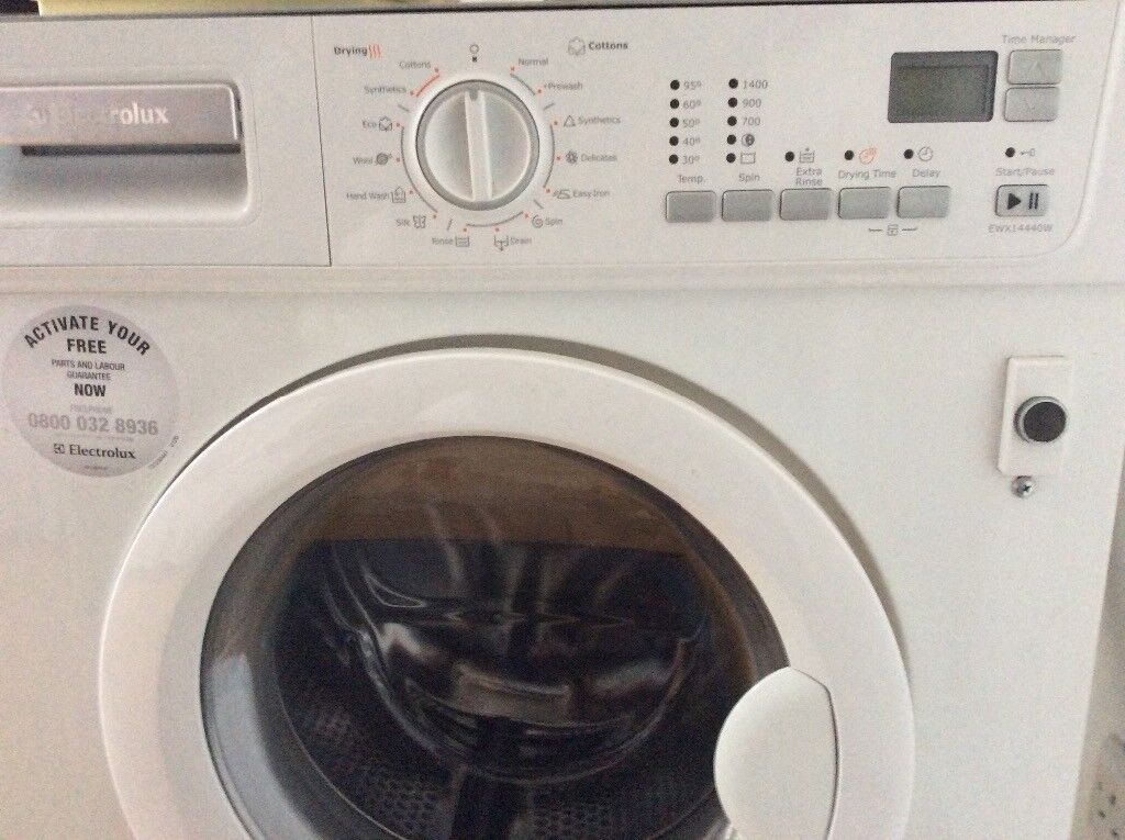 Faulty washer/dryer