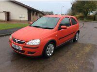 Vauxhall Corsa 1.2 SXI + 3dr red 06 Reg
