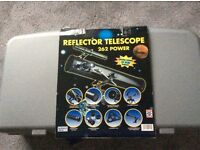 Reflector Telescope 262 Power with CD Rom included