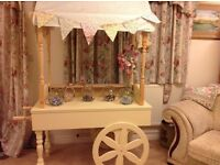 Beautiful Sweet Cart With Jars, Scoops To Hire from £38
