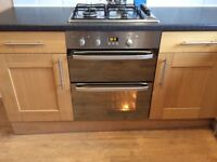 HOTPOINT DOUBLE FAN ASSISTED ELECTRIC OVEN