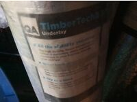Timber tech 2 underlay for laminate, engineered or solid wood flooring