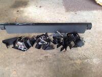 Rhino delta bar roof fixings and aero foil