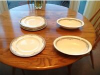 YORK PATTERN PLATES AND SERVING DISHES