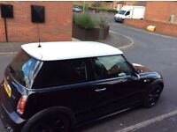 Mini Cooper jcw bodykit and chilli pack car is in leeds woodhouse