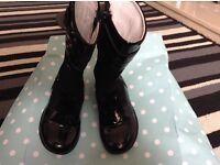 Girls designer boots by primigi infant size 7