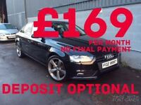 2012 Audi A4 2.0 TDI SE Black Edition Styling Full Service History £30 Tax FINANCE AVAILABLE!