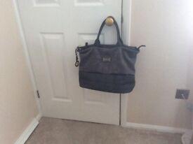 Grey bag Christian Lacroix type