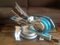 Makita LS0815FL 240v 216mm Single-Bevel Sliding Mitre Saw With Laser & Led Light