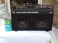 Gallien Krueger GK 200MV 206 mini PA and guitar amplifier combo