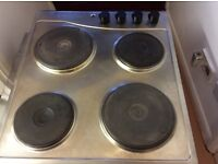 Electric stainless steel hob from ikea