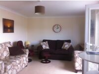Modern 2 bedroom, part furnished flat in convenient location for town centre and transport links