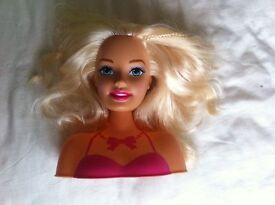 barbie model head