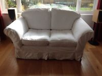 Two used Laura Ashley sofas, three seater and two seater