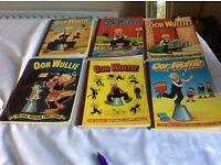 "Six "" Our Willie"" and six ""Broons"" books"