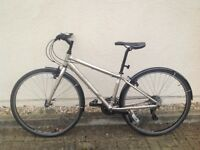 Hybrid Trek FX7.0 Bicycle, 3 years old, professionally serviced, good order. Fast, fun and agile.