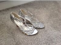 Emilia Luca sparkly Silver Sandals