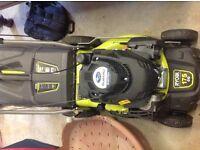 Subaru petrol lawnmower
