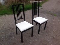 Chairs dinning chairs black and white chairs lounge dinner table kitchin students first house chairs
