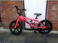 Pink (rooster ) kids bike