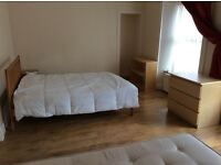 Beautiful two double beds in large room for student in a residential house