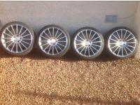 """Mercedes 19"""" Alloy Wheels"""