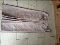 Mink eyelet curtains faux silk