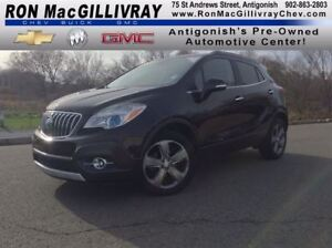 2014 Buick Encore Conv..Low KM..$126 B/W Tax Inc..GM Certified