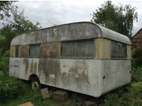 Rare vintage SPRITE ALPINE caravan