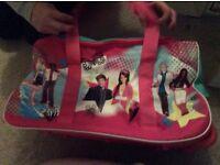 Little girls high school musical suitcase
