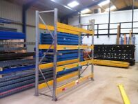GALVANISED HEAVY DUTY INDUSTRIAL COMMERCIAL WAREHOUSE PALLET RACKING UNIT BAY