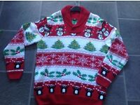 Gents Christmas Jumper from Cotton Traders size M/L
