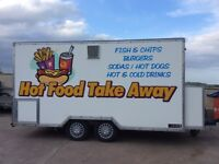 Catering Trailer for sale, 14' x 7'