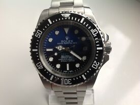 Rolex,Deepsea,sea dweller, James Cameron ,blue/black dial