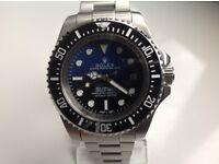 Rolex,Deepsea,sea dweller, James Cameron ,blue/black dial