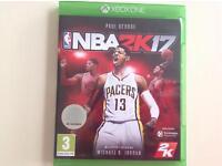 XBOX ONE NBA2K17 game