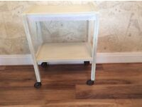 Vintage shabby chic tea trolley, including free local delivery.