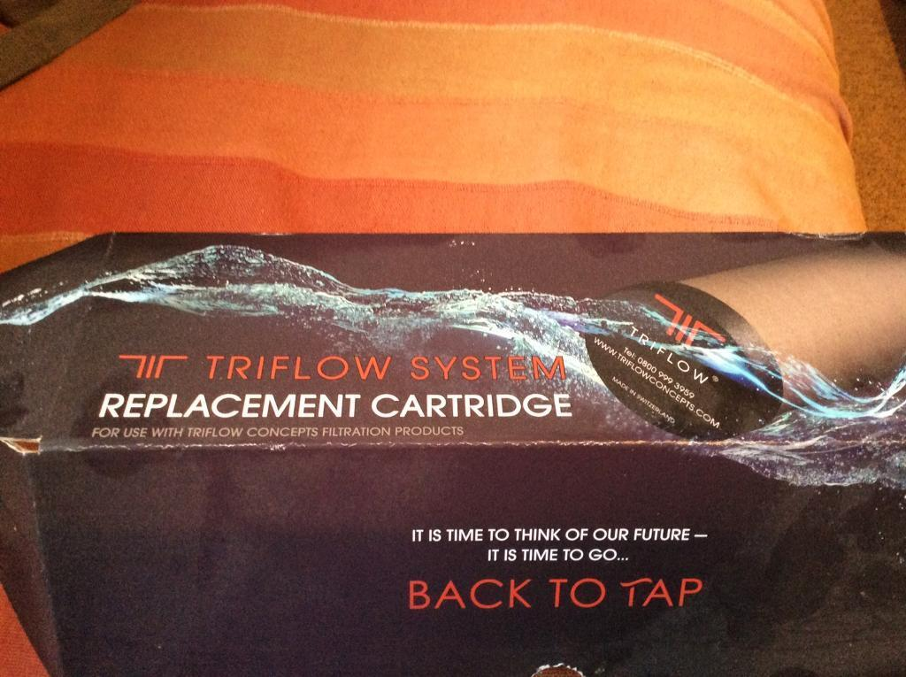 Triflow system replacement cartridge