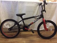 X rated, Quarter, 20 inch BMX bike - excellent condition. Hardly used/store indoors. PRICE REDUCED