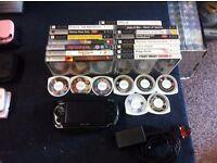 PSP, WITH GAME AND FILM BUNDLE