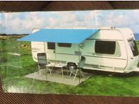 Caravan canopy awning. Never used. Brand new in box