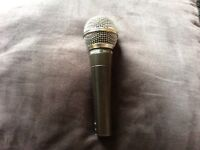 SM58 Shure microphone used but working perfect