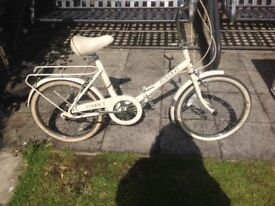 Raleigh compact folding bicycle good condition £45