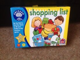 Shopping List board game