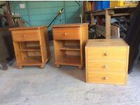Bedside Cabinets and Desk