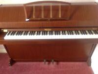 Eavestaff overstrung Miniroyal piano & stool