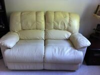3 plus 2 Reclining Leather Sofa Set