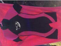 SA Short Wetsuit (pink&black)