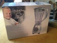 Boxed one touch brevile blender